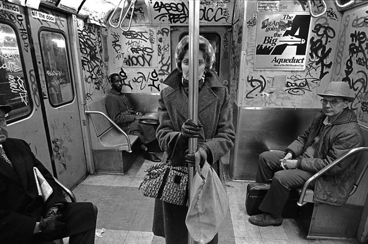 Black and white photos capture the urban grit of 1980s new york city