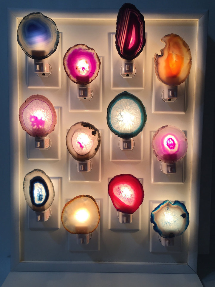 c26d39148d9f Colorful Crystals and Gemstones Turn Everyday Objects into Dazzling Home  Decor