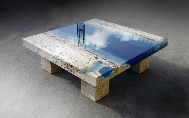 resin coffee table | nick boynton furniture