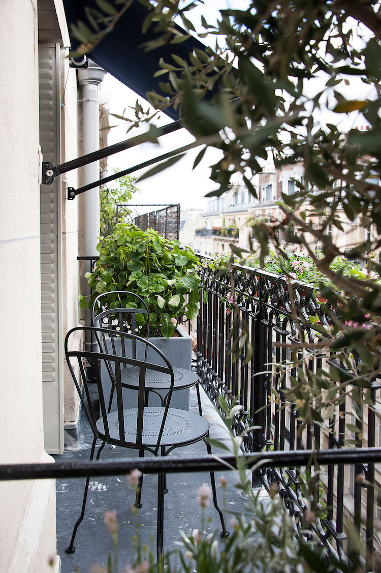 Cast Iron Balcony In Picturesque Parisian Property