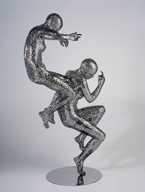 Favorit Steel Sculptures Made of More Than 20,000 Chinese Characters FN52