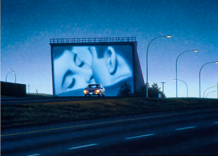 drive in paintings