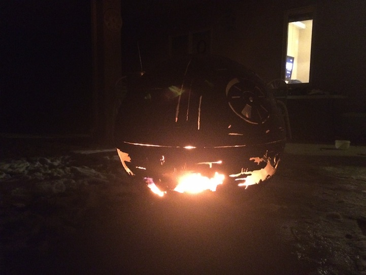 Star Wars Death Star Fire Pit Part - 42: My Modern Met