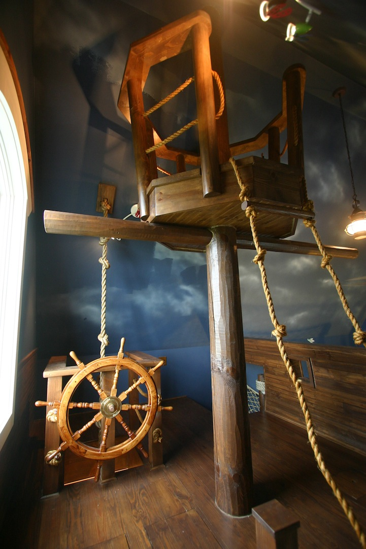 steve kuhl pirate ship bedroom interior design fantasy room