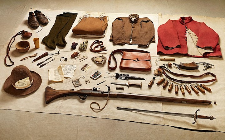 Incredible Photographic Survey of Military Kits From 1066 to 2014