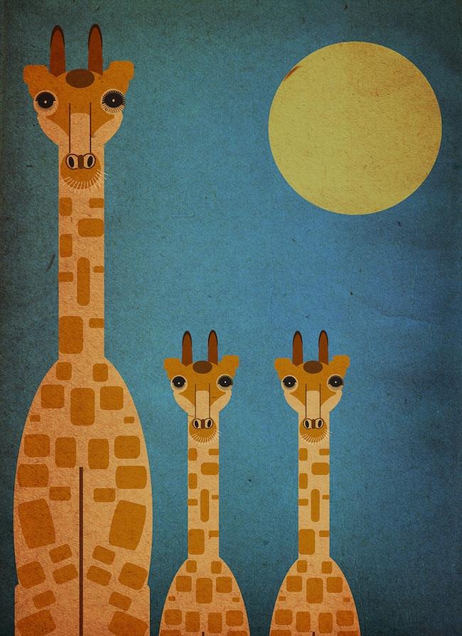 Whimsical Animal Illustrations 12 Photos