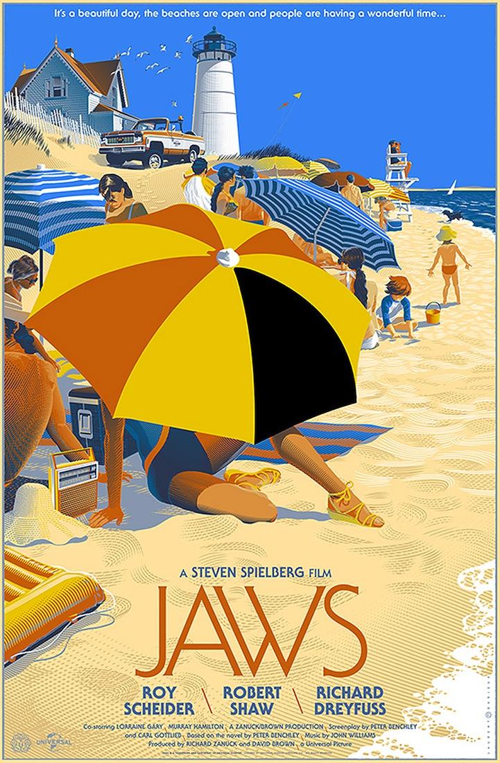 Unique Movie Posters Designed In Retro Futuristic Style