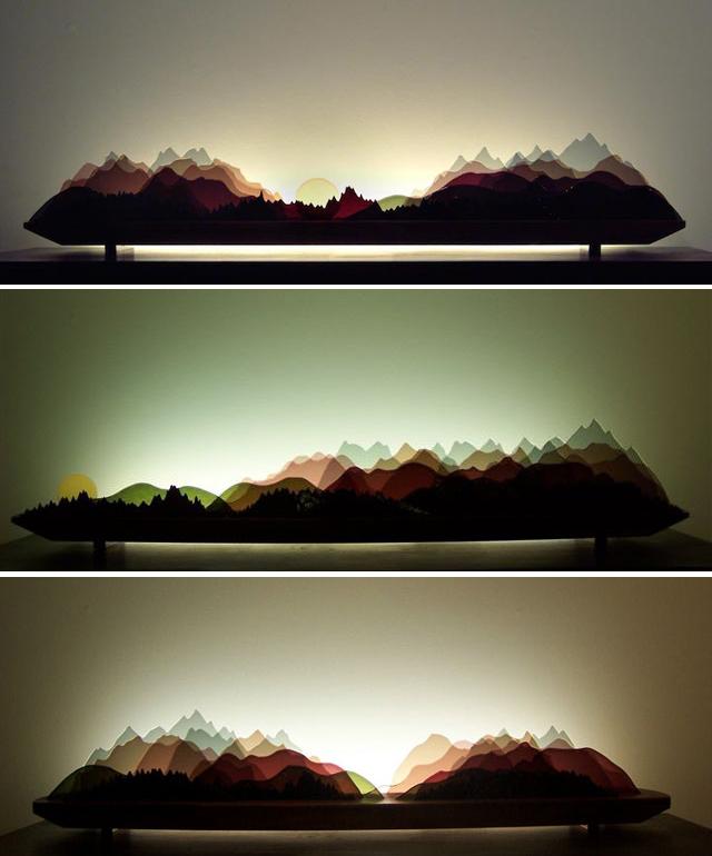 Internal Stone Wall Lighting