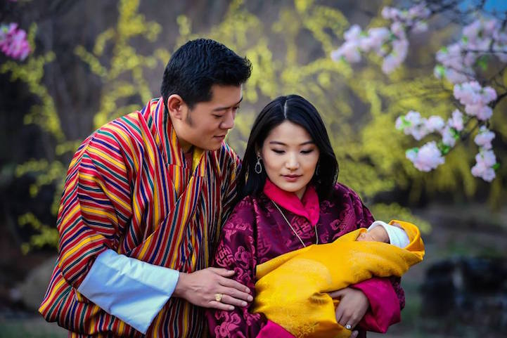 Eco-Friendly Nation of Bhutan Celebrates the Birth of Its Prince By  Planting 108,000 Trees