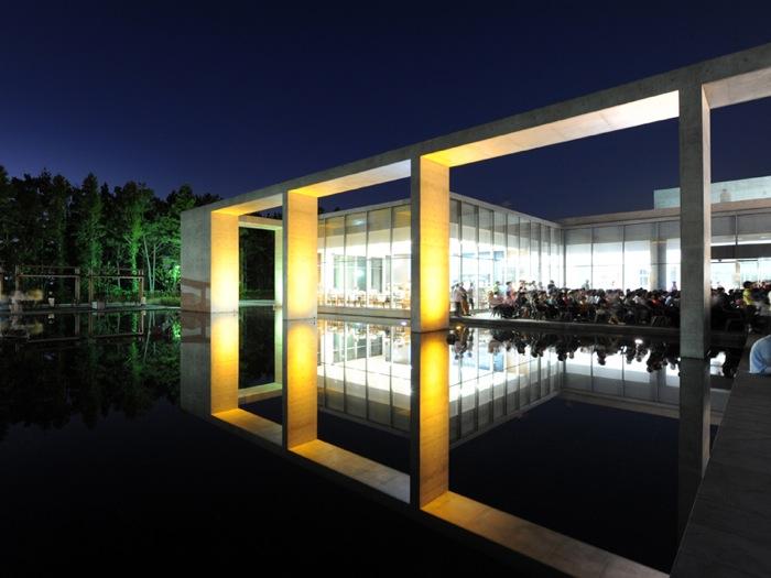 Modern Architecture Museum modern architecture - jeju provincial art museum (8 pics)