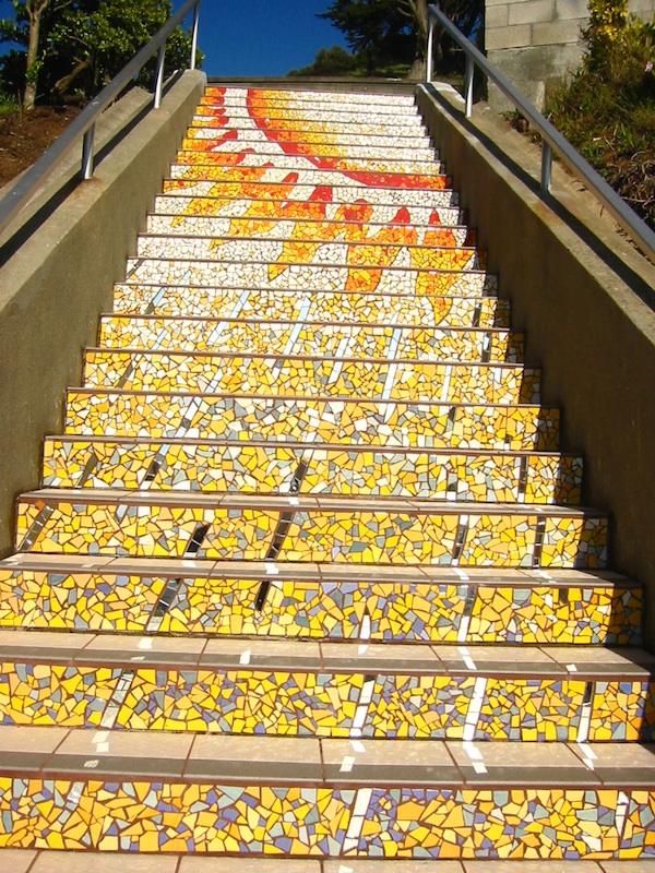 San Francisco S Secret Mosaic Staircase