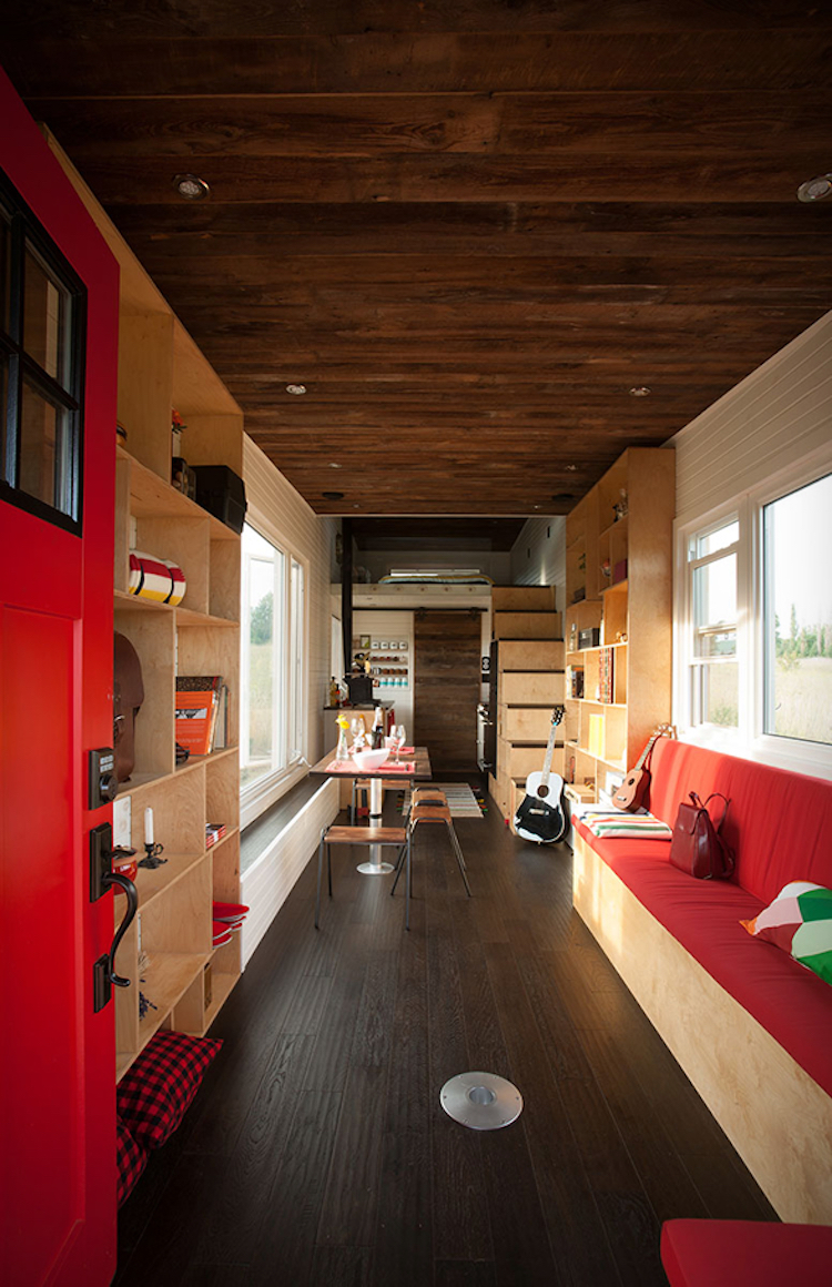 Hardwood Oak Floors Throughout Inviting Living Space