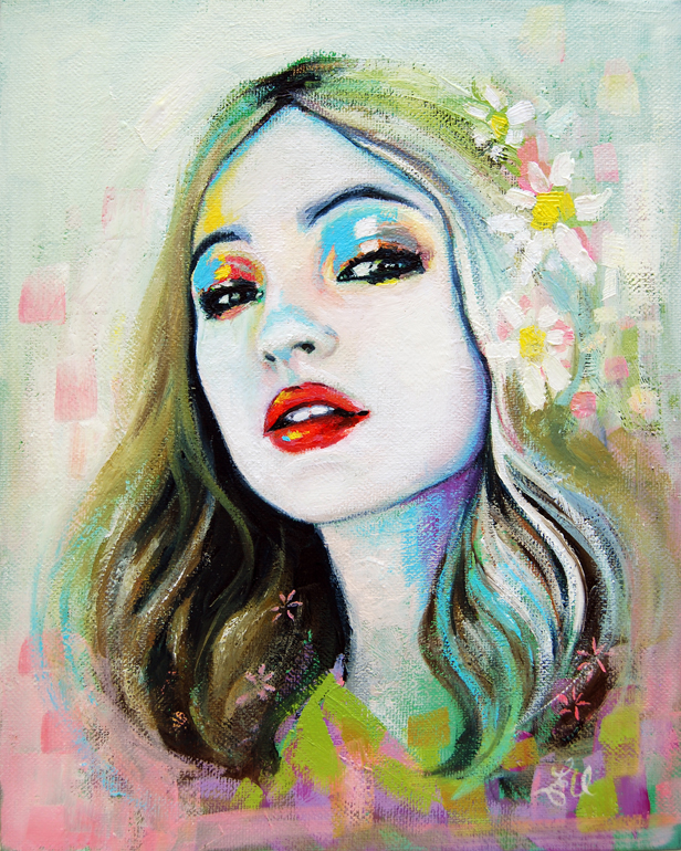 Interview: Gorgeous Pastel Portraits by Emma Uber