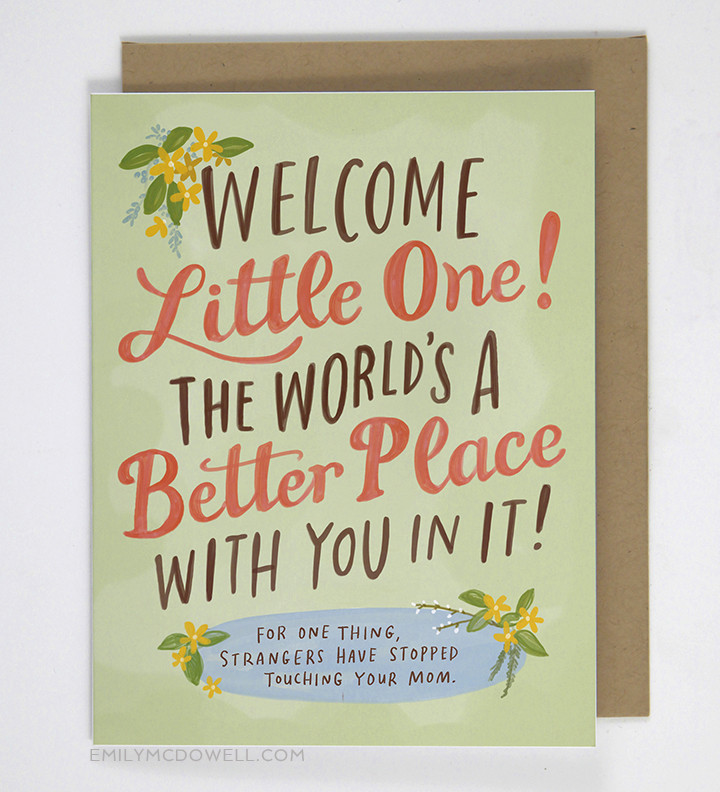 New Unbelievably Honest Cards By Emily Mcdowell