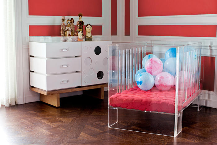 Acrylic Baby Furniture