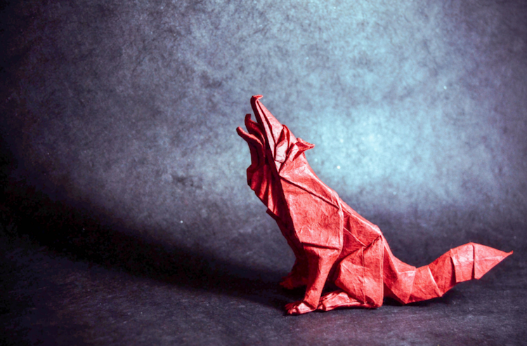 Artist Skillfully Folds Single Sheets Of Paper Into