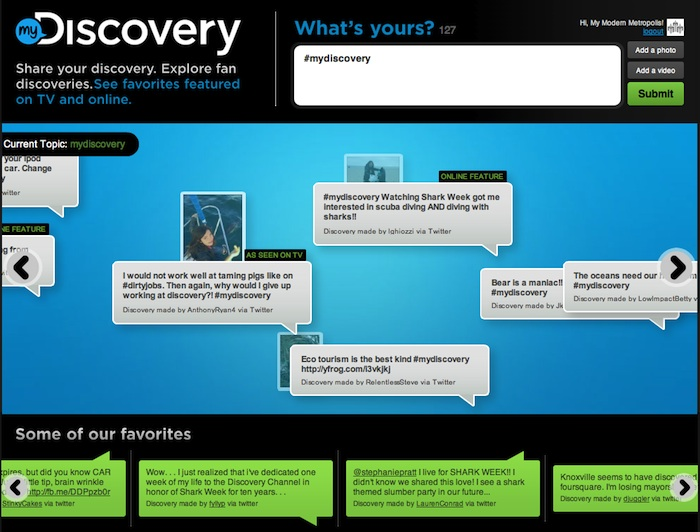 Discovery Channel Asks: What's Your Discovery?