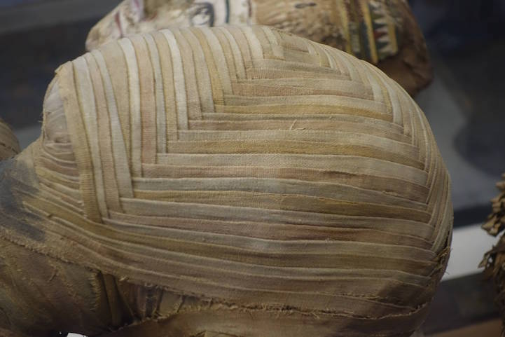 Ancient Egyptian Mummy Has Sophisticated Pattern Woven