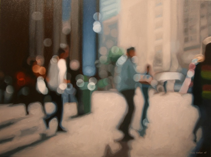 Hot And Blurry Summer Paintings Of The City