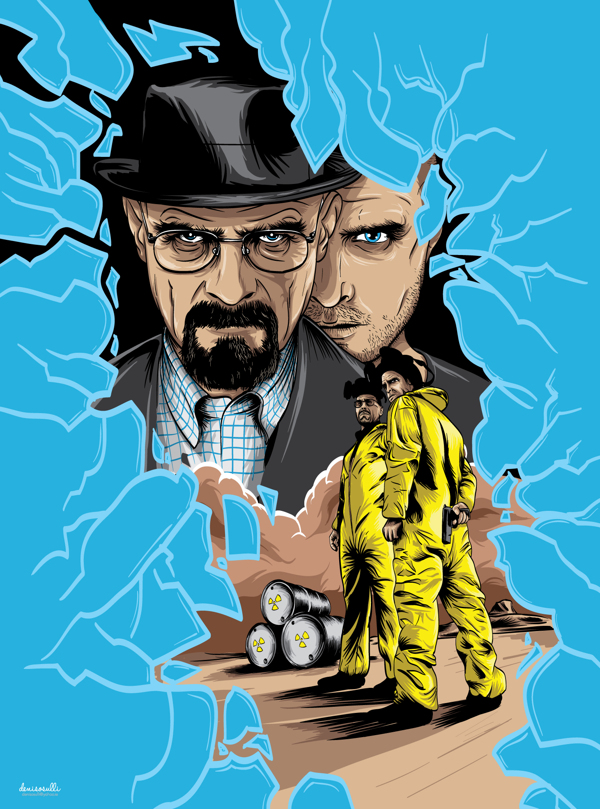 breaking bad fan art 12 fantastic and funny examples