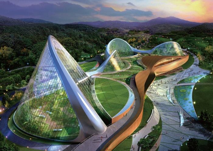 Modern Architecture The Ecorium Project 4 Pics