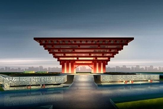 Modern Architecture China Pavilion Shanghai Expo 2010