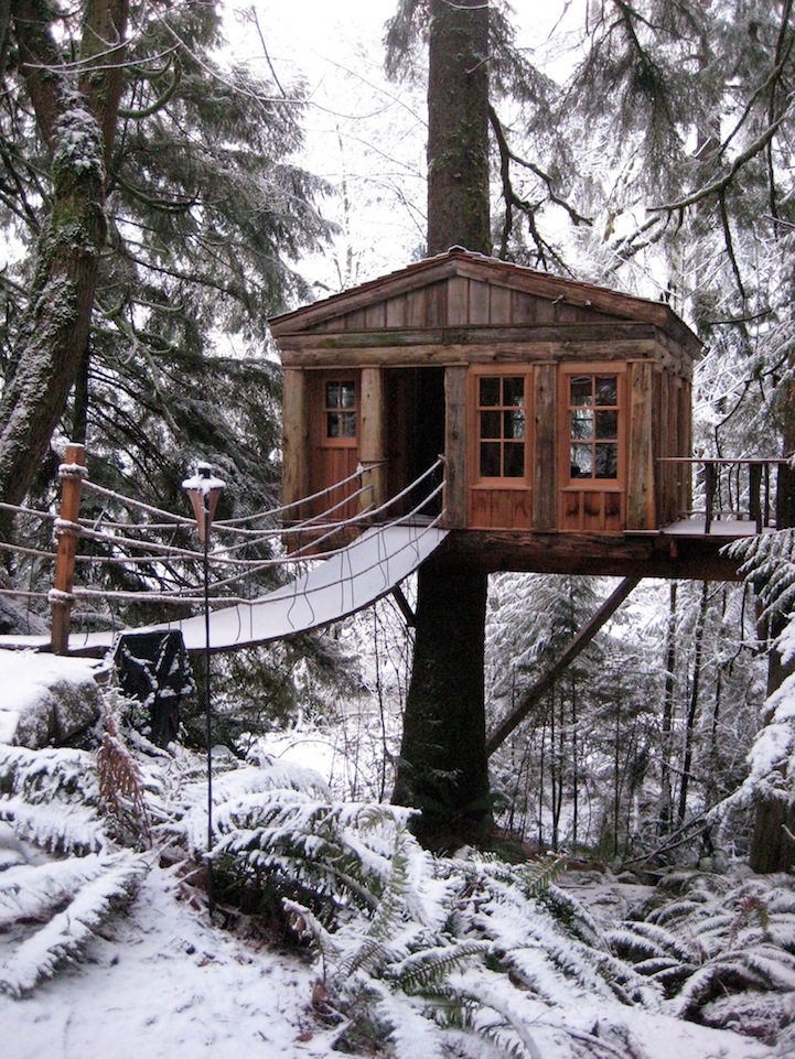 Tree House Bed And Breakfast Near Seattle
