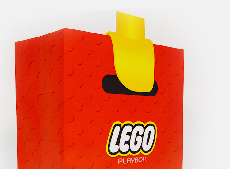 LEGO Block Bag Design