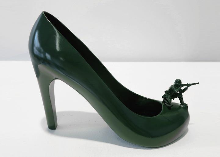 825e2b0a786 Designer Creates 12 Surreal Shoes Representing 12 Exes