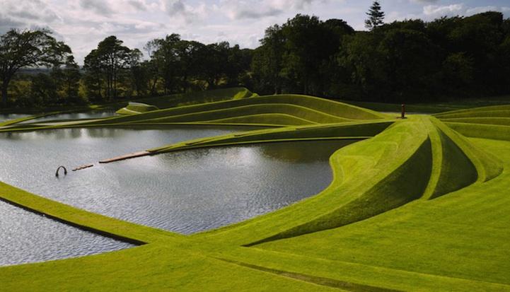 Landscape Architecture charles jencks' mind-bending landscape architecture