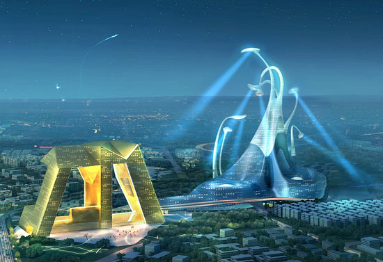 Modern Architectural Forms i love modern architecture - a magnificent urban plan proposal