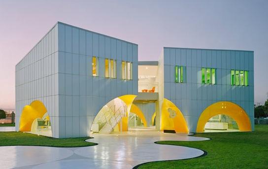 Modern Architecture Nestl Application Group Quertaro Mexico