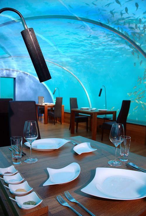 Modern Architecture Undersea Restaurant Has Spectacular View