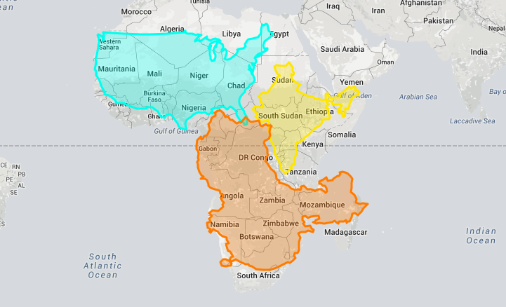 "Eye Opening ""True Size Map"" Shows the Real Size of Countries on a"