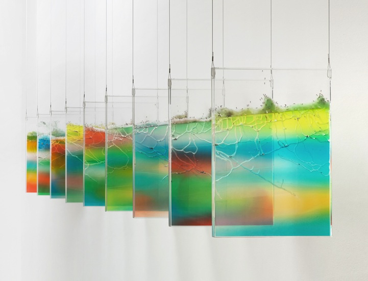 Live Ants Create Quot Sculpture Quot Tunnels In New Plexiglass Art