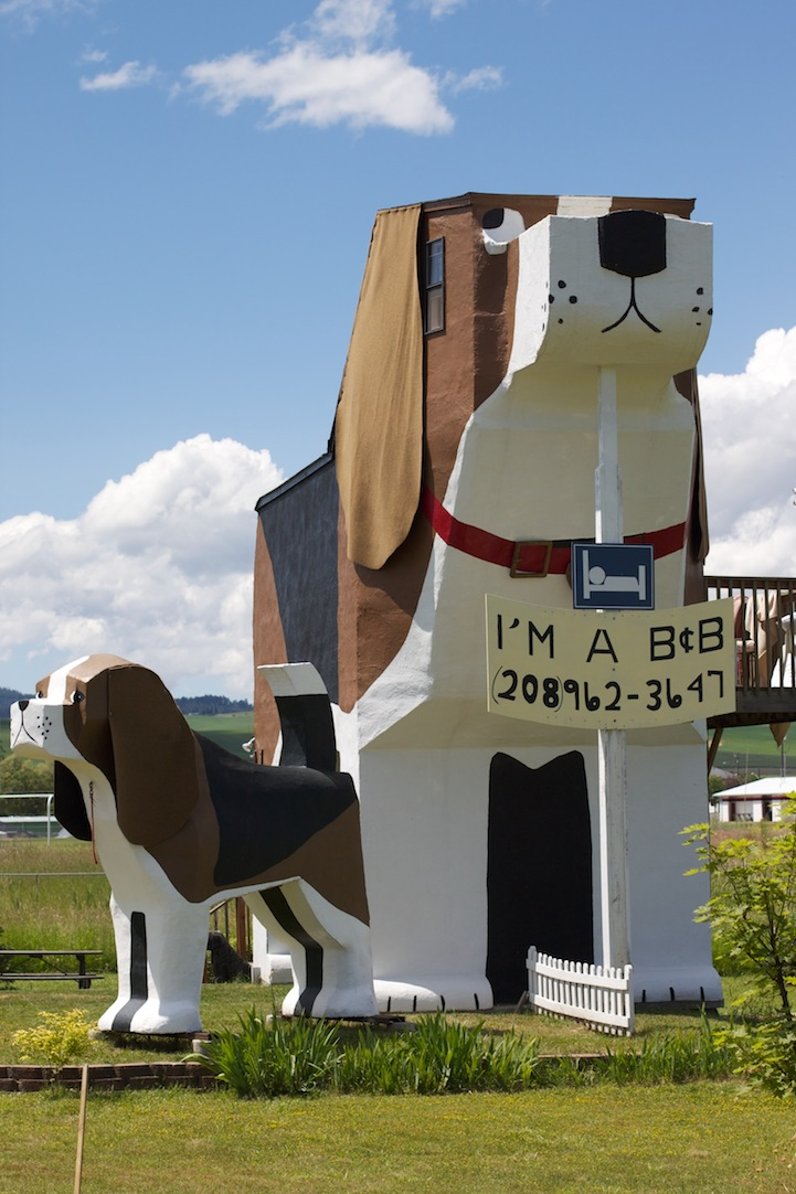 Dog Bark Park Inn Is A Quirky Hotel In Idaho Shaped Like A Dog