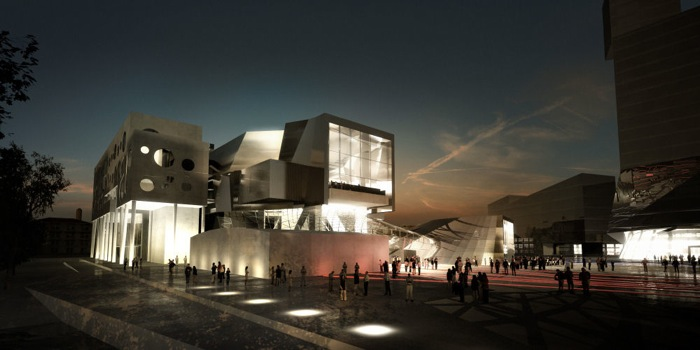 Modern Architecture The House of Music Denmark