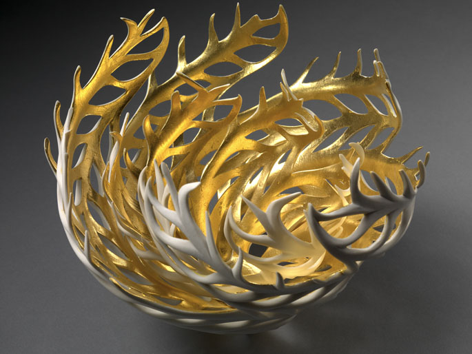 Nature-Inspired Porcelain Sculptures Glow From Within