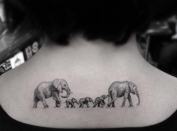 Geometric Fine Line Tattoos By Las Famous Dr Woo