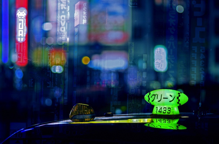 Taxicab Bokeh (12 photos)