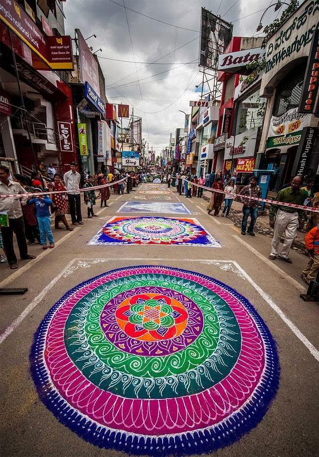 Indian Traditional Art Rangoli Designs