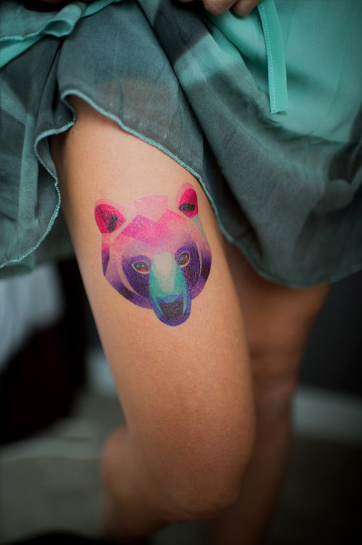 Vibrant Temporary Tattoos Designed by Famous Artists Who Ink ...