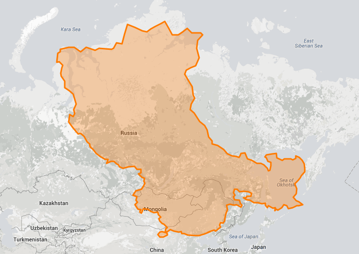 EyeOpening True Size Map Shows the Real Size of Countries on a