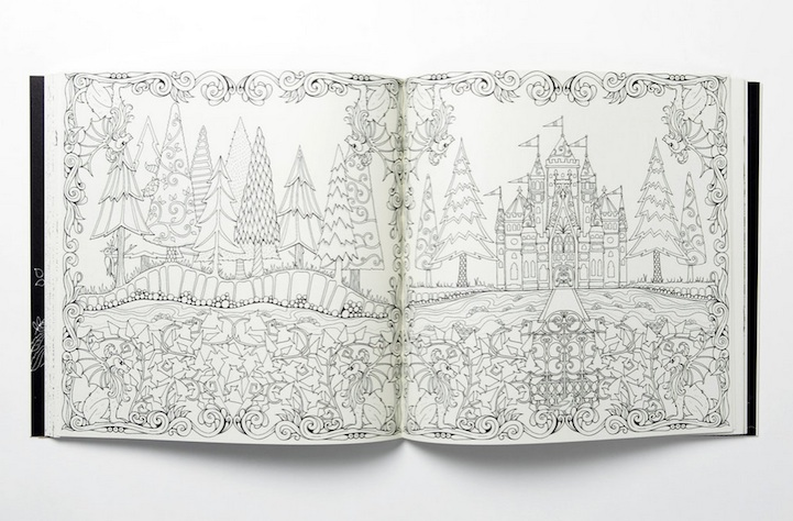 Johanna Basford Adult Coloring Books