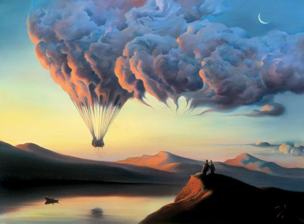 Dali-esque Surrealist Art by Vladimir Kush: Russia