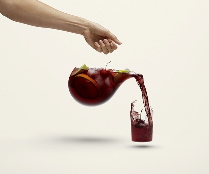 photo manipulation photoshop sample juice