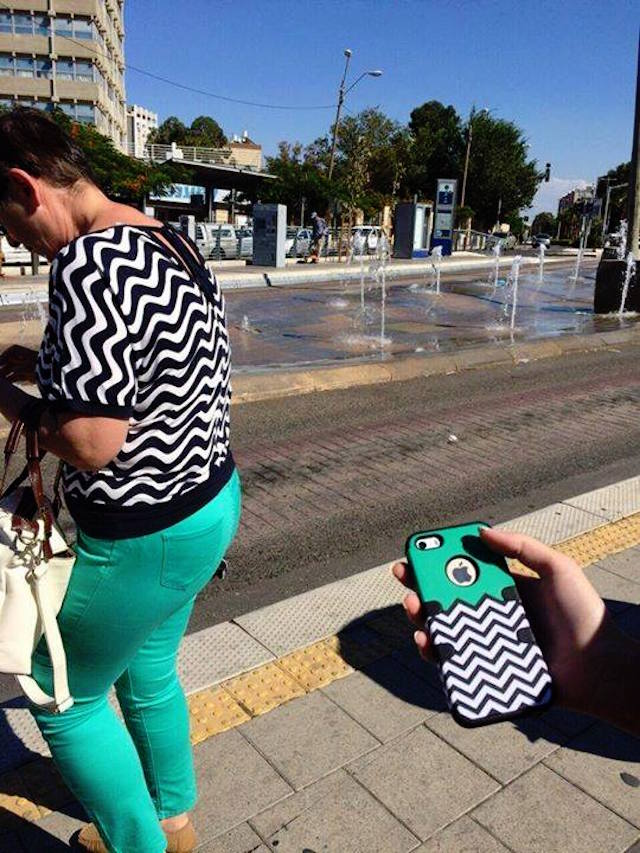 people matching inanimate objects outfits funny