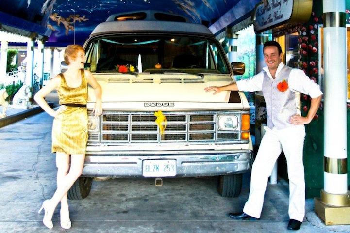 Drive Through Wedding In Las Vegas Usa