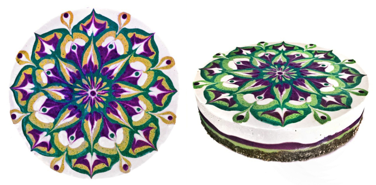 Psychedelic Mandalas Are Turned Into Intricately Designed