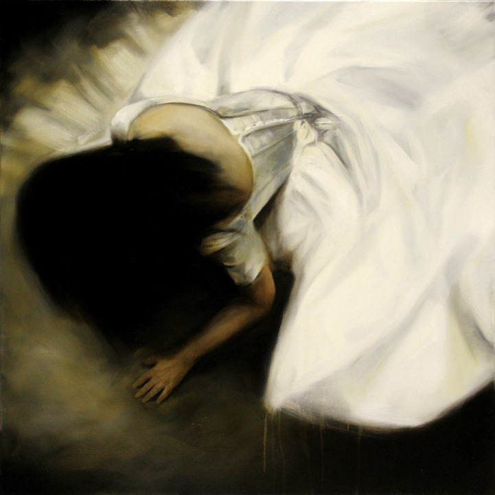 Artist Copes with Depression Through Powerful Paintings
